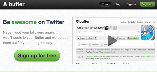 Buffer – Get 200% More Clicks On Tweets