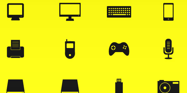 Vector Icons - Hardware