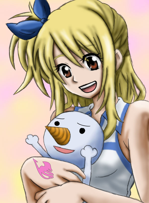 lucy 20 Cute Anime Girls