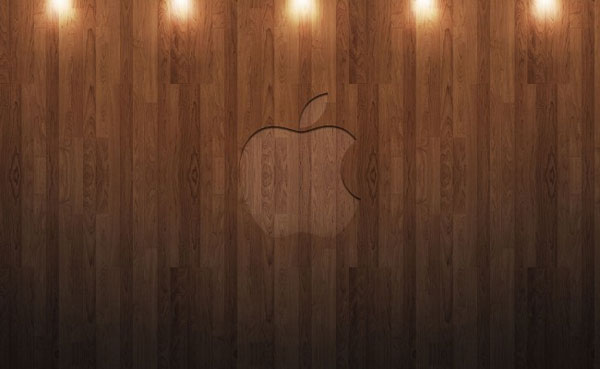 Apple Wood with Spot lights