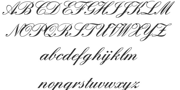 england 25 Best Calligraphy Fonts