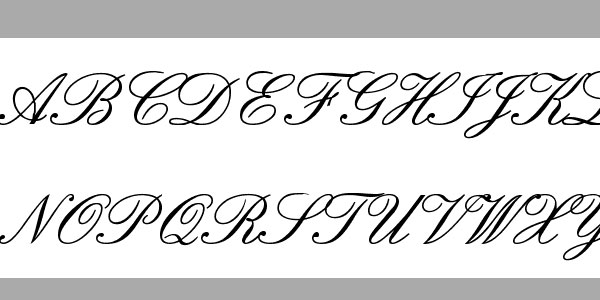 english font 25 Best Calligraphy Fonts