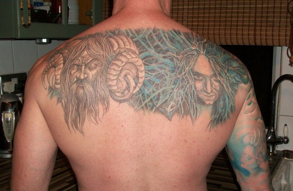horned god 20 Awesome Celtic Tattoos