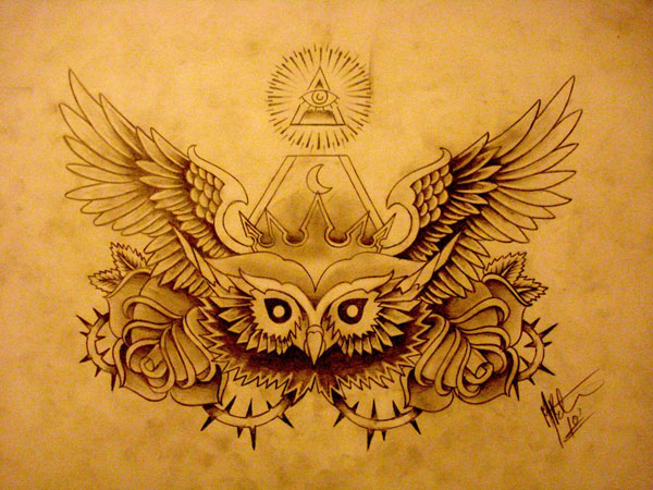 Owl chest piece