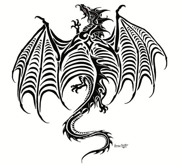 Dragon tattoo commish