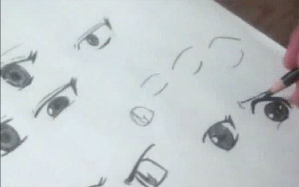 how to draw anime/manga eyes