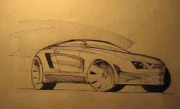 Design Sketching - How To Draw A Car