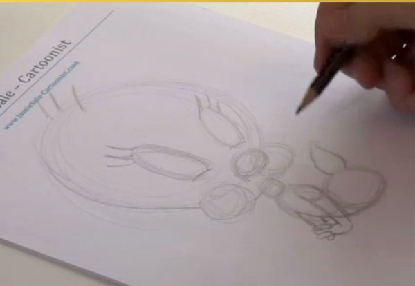 How To Draw Tweety Bird