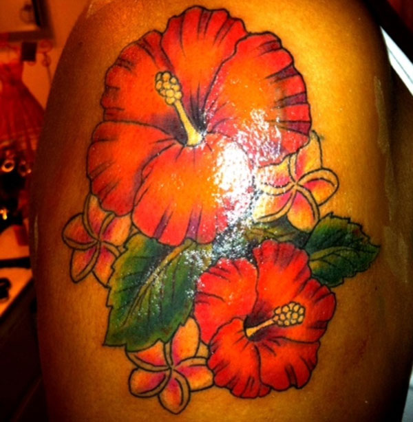 cover up flower tattoo 15 Nice Flower Tattoo Designs