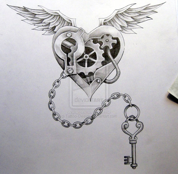 More information on steam punk tattoo design