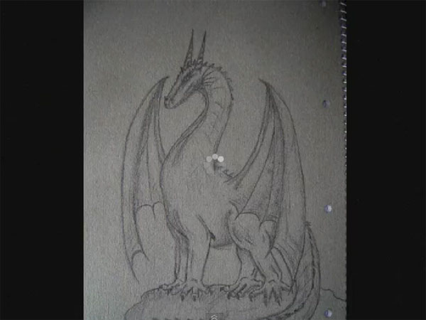 How to Draw Dragons, Real Time with audio