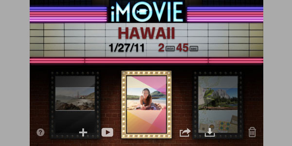 imovie 15 Best iPod Touch Apps