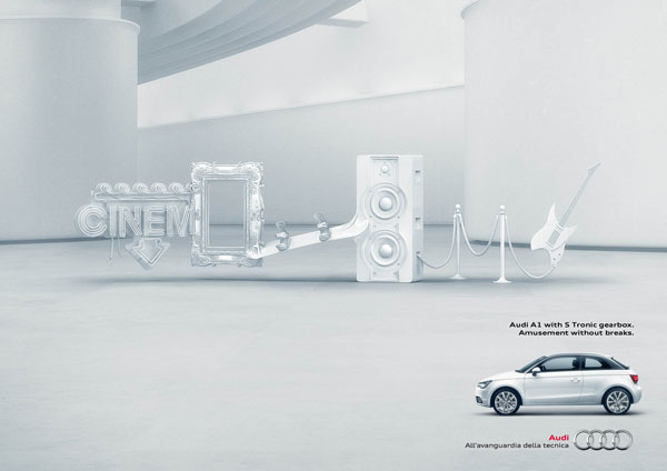 Audi A1 S-Tronic: No Breaks