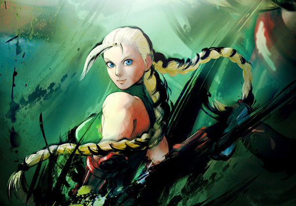 cammy 15 Street Fighter Characters Illustrations