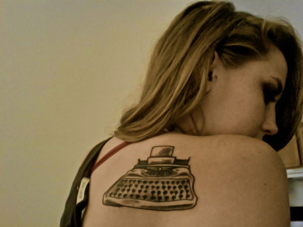 typewriter 20 Awesome Tattoo Ideas For Girls