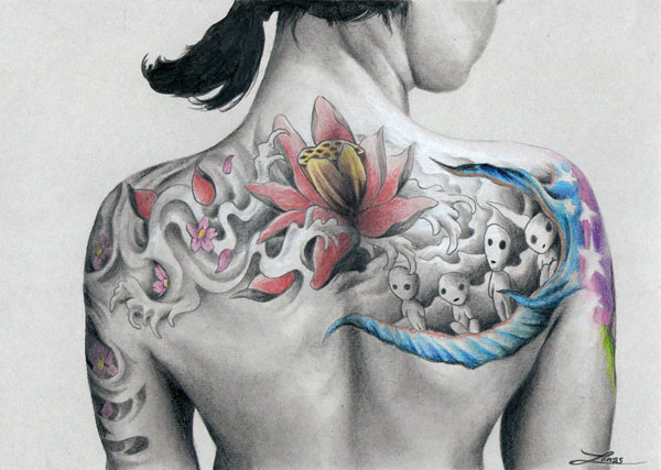 back tattoo 25 Impeccable Tattoos For Girls