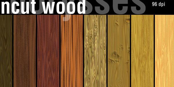 Wood uncut