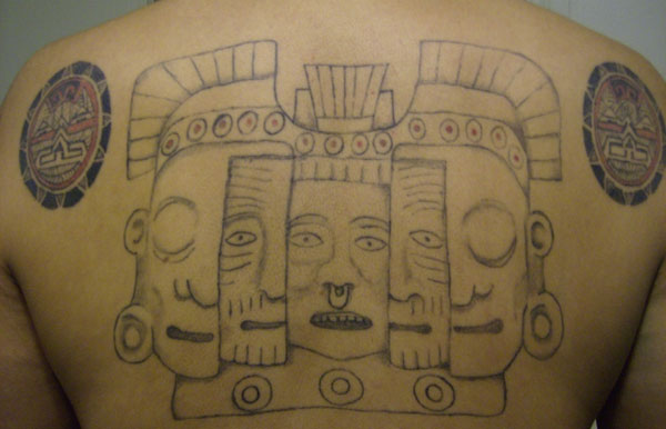 More Information on Aztec back