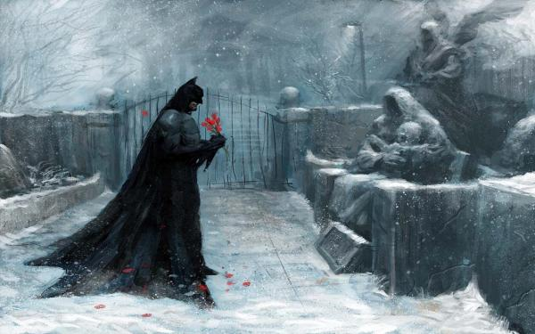 Batman Painting Wallpaper