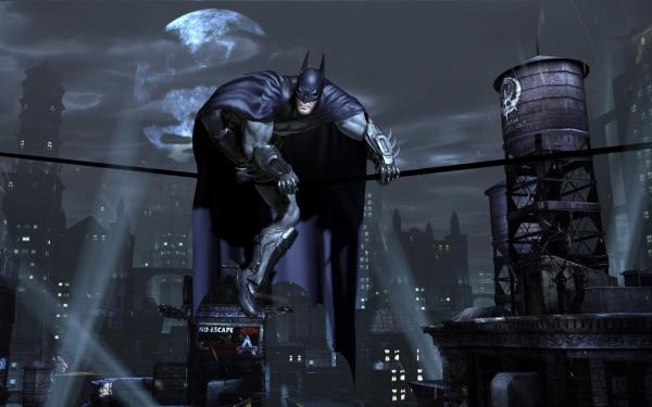 Batman Perched