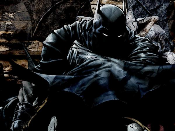 Shadowy Batman wallpaper
