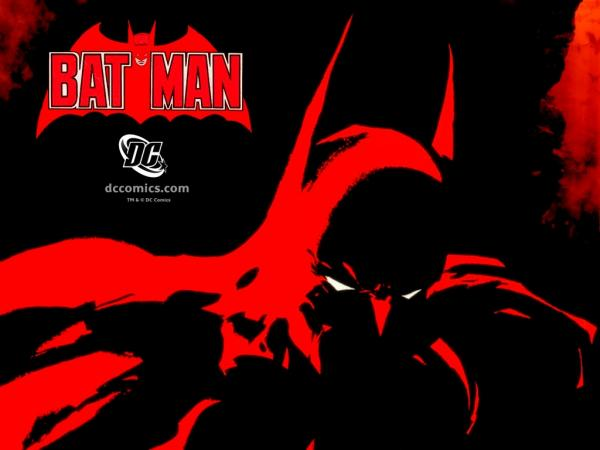 Fiery Red Batman