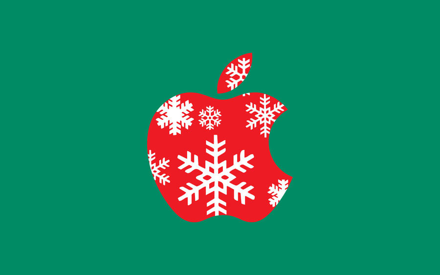 APPLE wallpaper Christmas