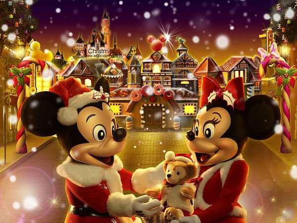 christmas fantasy 30 Heavenly Christmas Wallpaper Collection