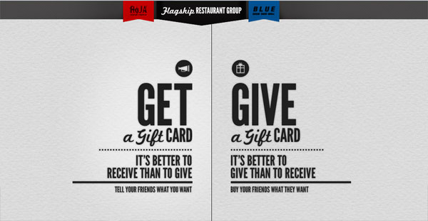 giftcards 20 Creative Web Designs
