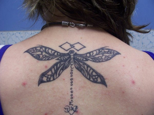 Dragon fly tattoo