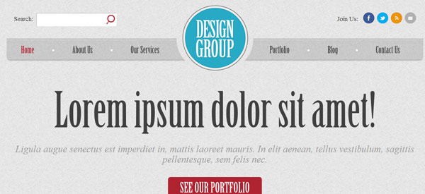 Design Group Free WordPress Theme