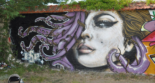 bonjour madame 30 Great Examples of Graffiti Art