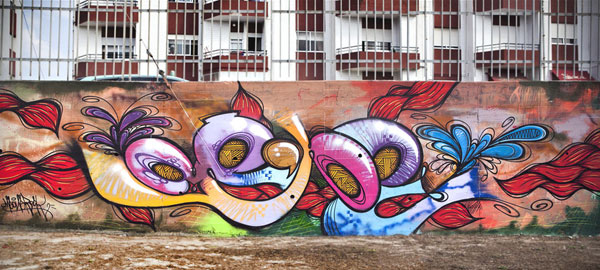 flow style 30 Great Examples of Graffiti Art