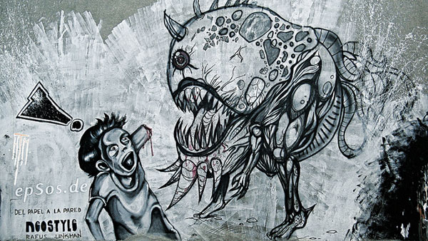 graffit monster 30 Great Examples of Graffiti Art