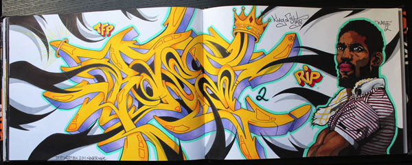 kase2rip 30 Great Examples of Graffiti Art
