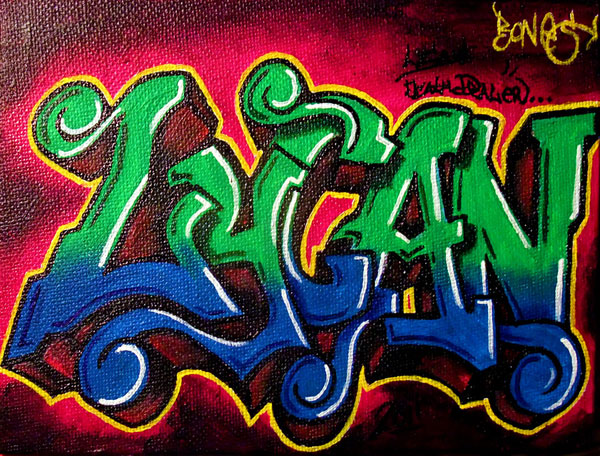 lycan 30 Great Examples of Graffiti Art