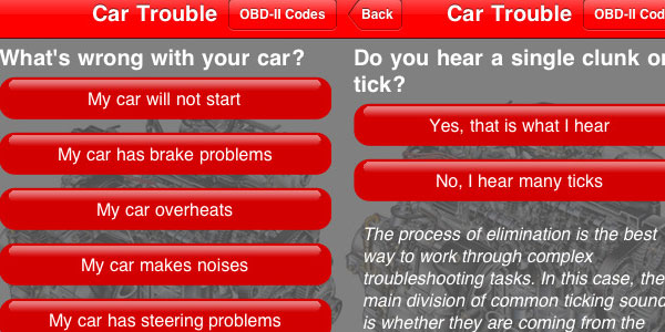 car trouble 30 Top Free Apps For iPod Touch