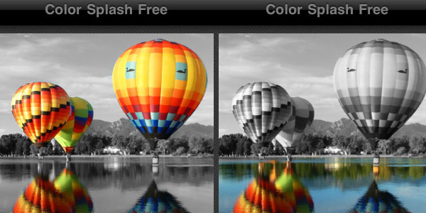 color splash free 30 Top Free Apps For iPod Touch