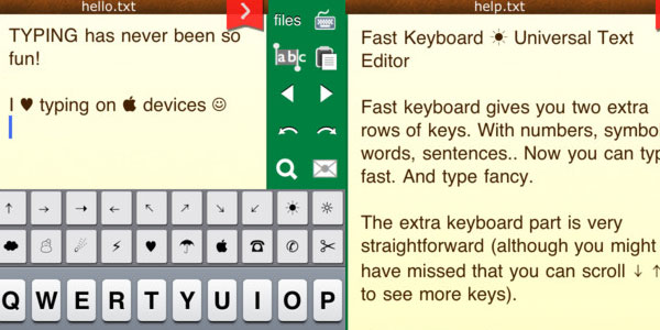 fast keyboard 30 Top Free Apps For iPod Touch