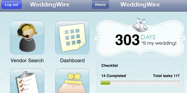 weddingwire 30 Top Free Apps For iPod Touch