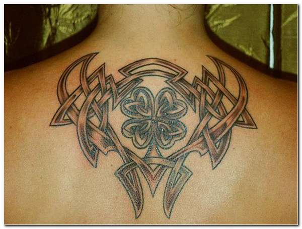 Irish Celtic Tattoo Tribal Style