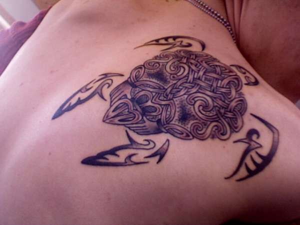 Irish Turtle Tattoo