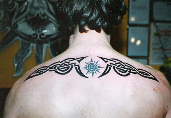 Tribal Irish Celtic Knotwork Tattoo