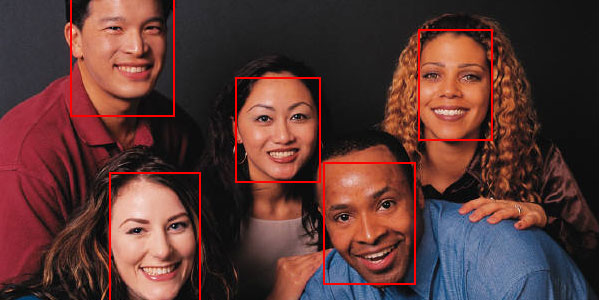 Facebook like jQuery face recognition