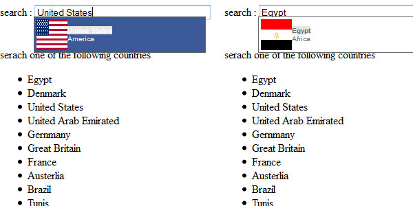 facebook like search 25 Plugins for jQuery Facebook