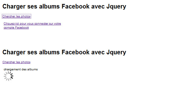 get facebook albums 25 Plugins for jQuery Facebook