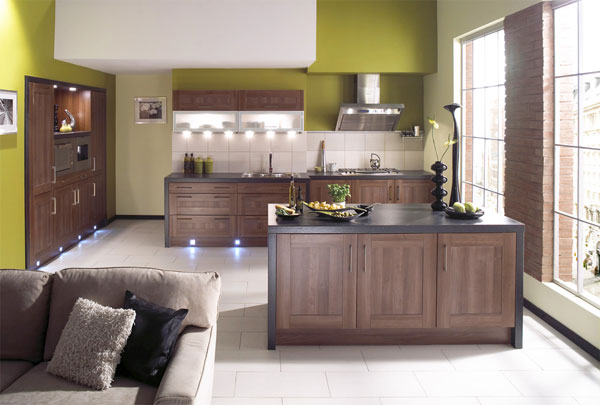 minimal kitchen 30 Superb Kitchen Cabinets Design