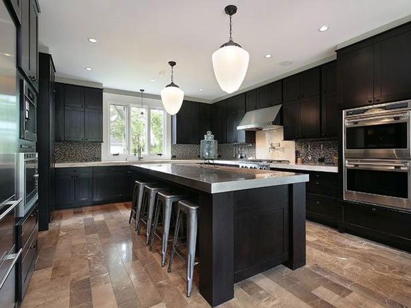 room kitchen 30 Superb Kitchen Cabinets Design
