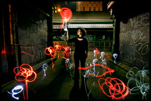 baloons 50 Great Examples Of Painting With Light