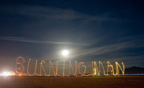 burningman 50 Great Examples Of Painting With Light